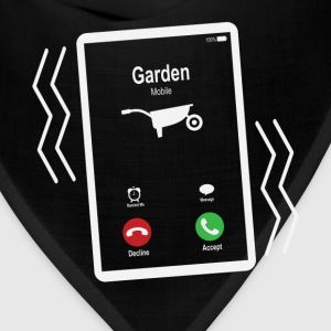 Garden Mobile is Calling Mobile T-Shirts - Bandana