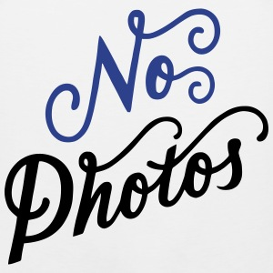 No Photos T-Shirts - Men's Premium Tank