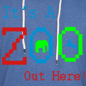its_a_zoo3 T-Shirts - Unisex Lightweight Terry Hoodie