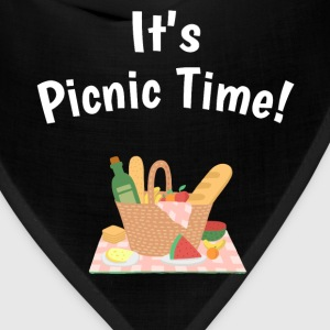 It's Picnic Time Spring Summertime Feast T-Shirt T-Shirts - Bandana