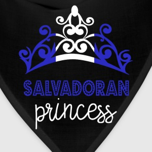 Salvadoran Princess Tiara National Flag T-Shirt T-Shirts - Bandana