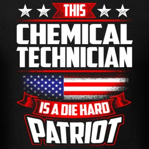 4th Of July Chemical Technician Die Hard Patriot  Sportswear - Men's T-Shirt