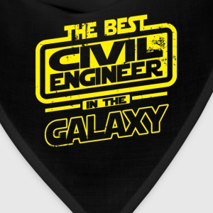 The Best Civil Engineer In The Galaxy T-Shirts - Bandana