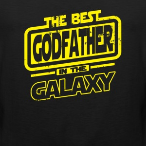 The Best Godfather In The Galaxy T-Shirts - Men's Premium Tank