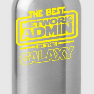 The Best Network Admin In The Galaxy T-Shirts - Water Bottle