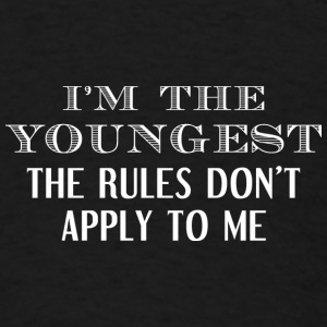 I'm The Youngest - Men's T-Shirt