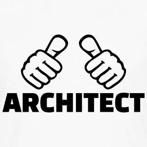 Architect T-Shirts - Men's Premium Long Sleeve T-Shirt