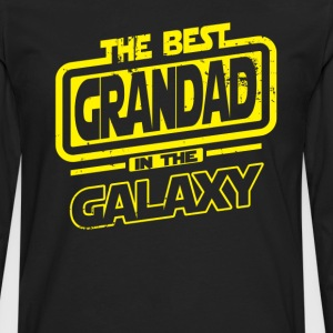 The Best Grandad In The Galaxy T-Shirts - Men's Premium Long Sleeve T-Shirt