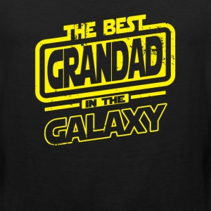 The Best Grandad In The Galaxy T-Shirts - Men's Premium Tank