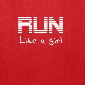 Run like a girl Hoodies - Tote Bag