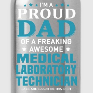 Medical Laboratory Technician's Dad - Water Bottle