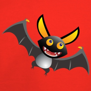 Bat Cartoon  - Kids' Premium Hoodie