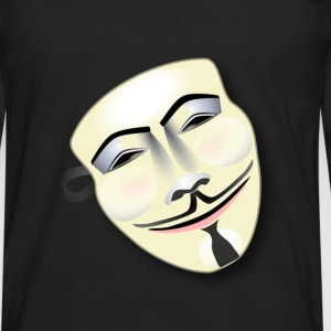 Anonymous Mask - Men's Premium Long Sleeve T-Shirt