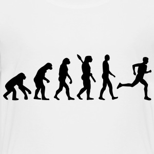Evolution running Kids' Shirts - Toddler Premium T-Shirt