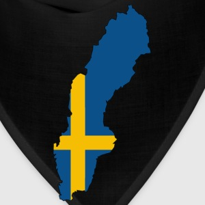 Sweden Map - Bandana