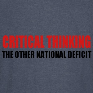 Critical Thinking Hoodies - Vintage Sport T-Shirt