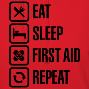 Eat Sleep First Aid Repeat T-Shirts - Women's Hoodie