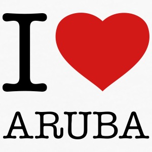 I LOVE ARUBA - Men's Premium Long Sleeve T-Shirt