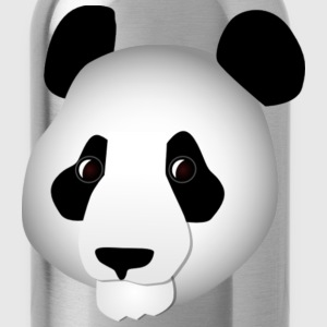 Asian Panda Head - Water Bottle