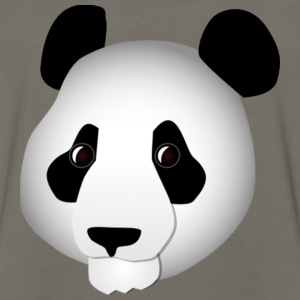 Asian Panda Head - Men's Premium Long Sleeve T-Shirt