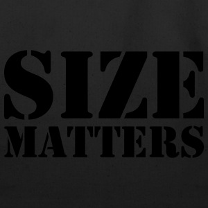 Size matters - Eco-Friendly Cotton Tote