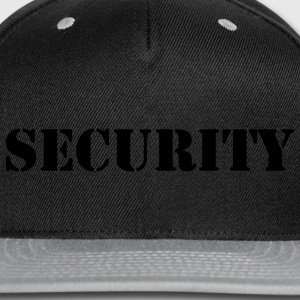 Security - Snap-back Baseball Cap