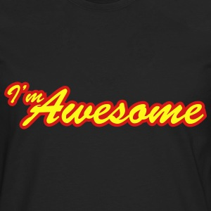 i'm awesome - Men's Premium Long Sleeve T-Shirt