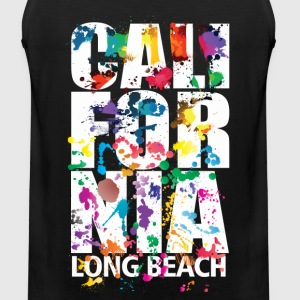 Long Beach California - Men's Premium Tank