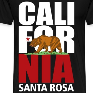 Santa Rosa California - Men's Premium T-Shirt