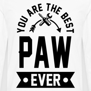 paw 1aaaa.png T-Shirts - Men's Premium Long Sleeve T-Shirt
