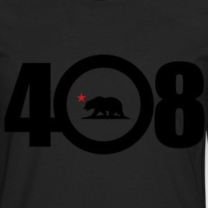 Area Code 408 - Men's Premium Long Sleeve T-Shirt
