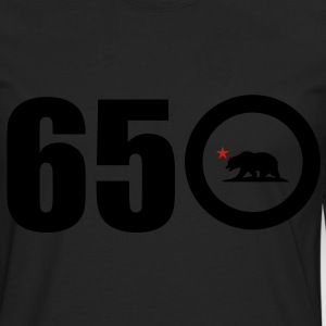 Area Code 650 - Men's Premium Long Sleeve T-Shirt