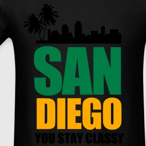 San Diego YOU STAY CLASSY - Men's T-Shirt