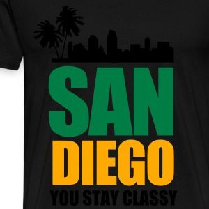 San Diego YOU STAY CLASSY - Men's Premium T-Shirt