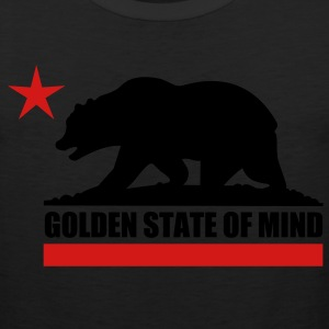 Golden State Of Mind - Men's Premium Tank