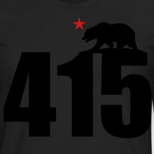 Area Code 415 - Men's Premium Long Sleeve T-Shirt