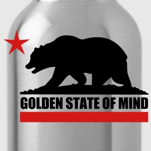 Golden State Of Mind - Water Bottle