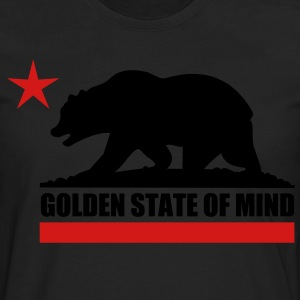 Golden State Of Mind - Men's Premium Long Sleeve T-Shirt