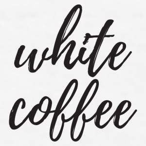 White Coffee Mugs & Drinkware - Men's T-Shirt