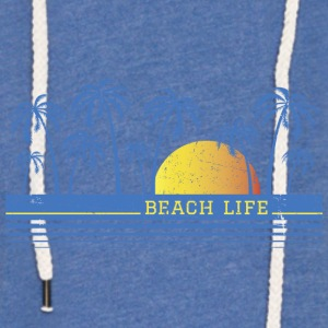 Beach Life Baby Body - Unisex Lightweight Terry Hoodie