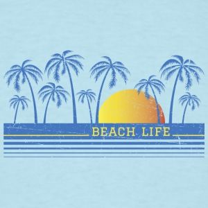 Beach Life Baby Body - Men's T-Shirt
