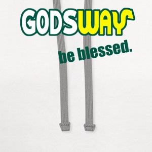God's Way T-Shirts - Contrast Hoodie