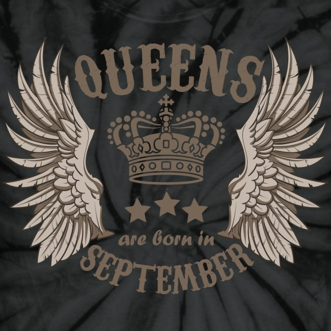 Queens are born in September