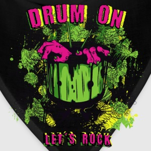 drum_on_06_201703 T-Shirts - Bandana
