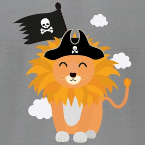 Lion Pirate Captain S1p85 Long Sleeve Shirts - Men's T-Shirt by American Apparel