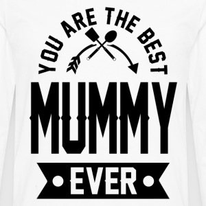 mummy 1aaaa.png T-Shirts - Men's Premium Long Sleeve T-Shirt