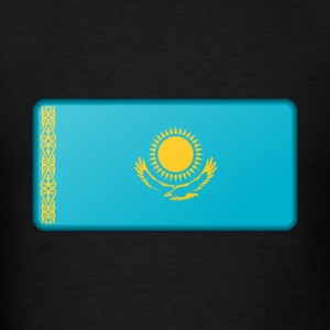 Kazakhstan Flag - Men's T-Shirt