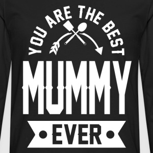 mummy 1bbbb.png T-Shirts - Men's Premium Long Sleeve T-Shirt