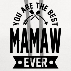 mamaw 1aaaa.png T-Shirts - Contrast Hoodie