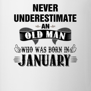 Never Underestimate An Old Man Who Was Born In Ja T-Shirts - Coffee/Tea Mug